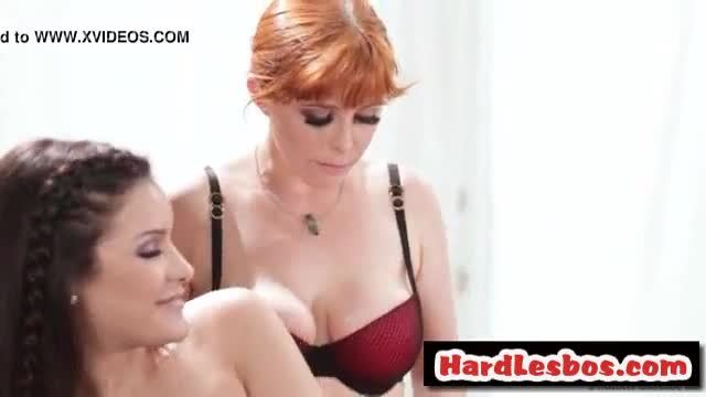 All girl massage with Penny Pax and Eden Sin