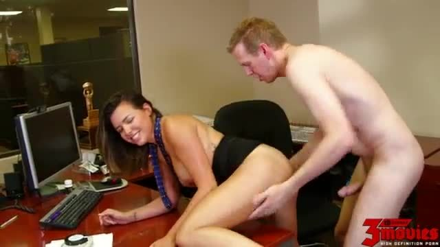Danica Dillan Rough Play At Work